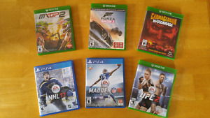 JEUX PS4 PLAYSTATION 4  XBOX ONE