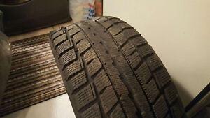 Dunlop Snow Tires w Rims