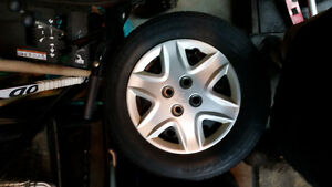 4 winter tires 185/70R14 ,BF Goodrich,