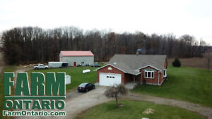 66 Acres in Elgin County with 3 Bedroom Bungalow & Large Shop