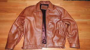 Rare 1988 Olympic Games Coca-Cola Quality Copper Leather Jacket