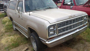 1979 Dodge Ramcharger Build Project