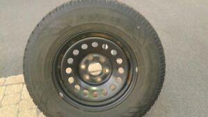 4 jantes GM et 4 pneus TOYO 265/70/17 West Island Greater Montréal image 1