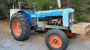 1963 Fordson Super Major Farm Tractor