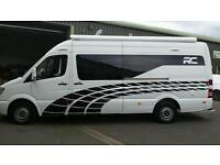 2013 63 MERCEDES SPRINTER 313 CDI 130PS LWB SPORTHOME EDITION RACE VAN