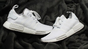 78f4c7f93a53 Adidas NMD R1 Japan Triple White Size 12 DEADSTOCK