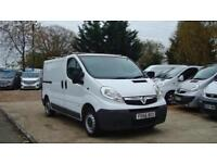 2007 VAUXHALL VIVARO 1.9 CDTI [100PS] SWB Twin Slide Door Van