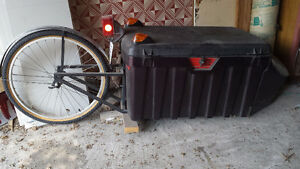 Motorcycle Trailer, single wheel