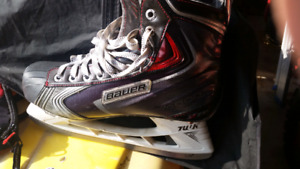 Bauer x100 Pro stock skates 8.5ee