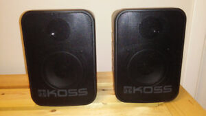 KOSS SXM 66 Two Way Indoor / Outdoor Stereo Speakers