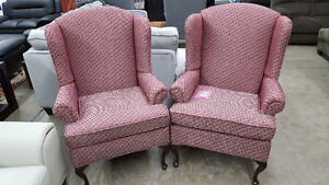 Wing back Chairs - Delivery Available