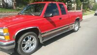 1996 Chevrolet Silverado 1500 3rd door Leather Pickup Truck