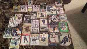 Toronto Maple Leafs Hockey Card Lot with Clark/Gilmour Pop-Ups