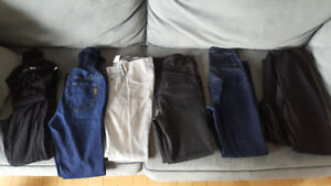 Maternity jeans, pants, leggings and skirt