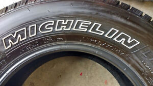 4 - LT265/70R17 Michelin Defender LTX M/S Tires