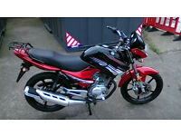 Honley Motor HD 125cc 2 Naked. Learner Legal Commuter Pre-Registered