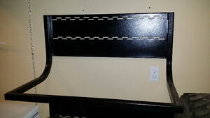 Wall Tire Rack - Solid Build (Black)