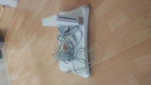 Wii avec jeux et wii fit