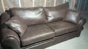 Sofa cuir veritable