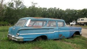 ISO 1958 Chevy car / station wagon parts.