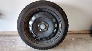 Set of 4 Mounted Winter Tires
