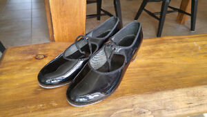Vintage Womens Capezio The Dancemaker Tap Shoes w/ London Taps