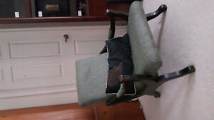 Vintage chair for sale (newly re-upholstered)