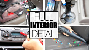 Car Detailing Shampoo & Steam For Only $100!