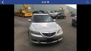 2004 Mazda 6 for parts