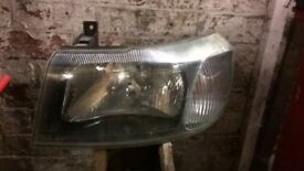 Ford transit head lights pair left and right mk6