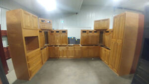 40 New Cabinet Sets at Bryan's Online Auction