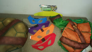 Turtles costume size M 3T-4T