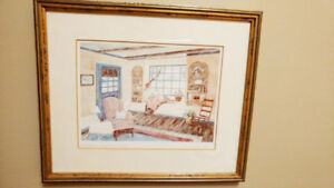 Helen Downing Hunter Signed Prints COLLECTION Cottage country