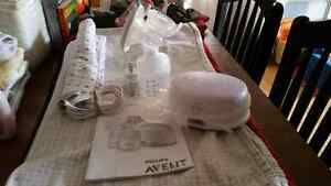 Philips Avent Single Electric Breast Pump Cambridge Kitchener Area image 1