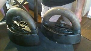 Antique Irons ( BOTH FOR $30)