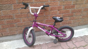 FOR SALE: 14 inch wheel children's bicycle