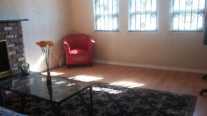 One furnished room is available right now!