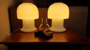 Mid-Century Modern Moon Lamps - Set of 2