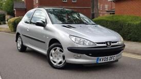 Peugeot 206 1.1 Zest 2 3DR 2006++Cat D+Service History+Cambelt changed