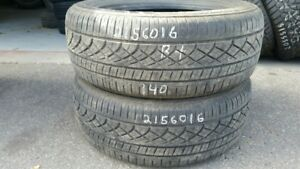 Pair of 2 Hercules Tour 4.0 Plus 215/60R16 tires (75% tread life