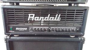 Randall RH300 + Cab 4x12 Randall