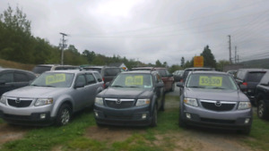 Three Mazda tribute ( ford escape) 4wd for sale!!! FINANCING