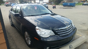 Chrysler Sebring in excellent condition with low kms
