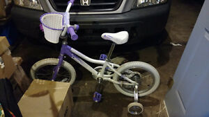 Girl's bike, in almost new condition
