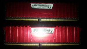 Corsair Vengeance 8GB (2x 4GB) DDR4 2666 Desktop ram (have 5 set