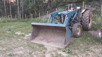 60HP Ford Tractor with Loader