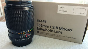 Sears 135mm F2.8 with 52mm Clear Filter London Ontario image 3