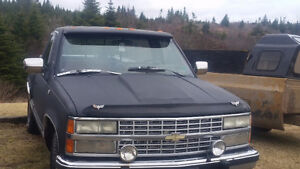 91 chevy step side