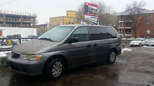 2001 Honda Odyssey Camionnette