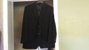 Black suit jacket